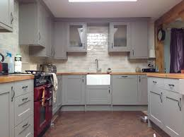 Taupe Kitchen Cabinets Taupe And White Kitchen Cabinets Is My All Done Dusted With