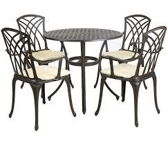 Aluminium Patio Sets Best 25 Cast Aluminium Garden Furniture Ideas On Pinterest Wood