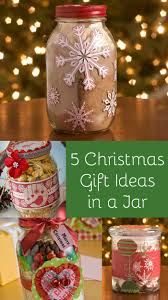5 cute christmas gifts in a jar people gift and holidays
