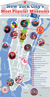 New York Borough Map by New York City U0027s Most Popular Museums Map Nyc Favorites