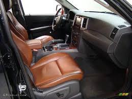 jeep grand cherokee brown saddle brown royale leather interior 2009 jeep grand cherokee
