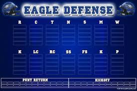 Football Depth Chart Template Excel Depth Charts