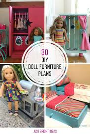 De Plan Barbie Doll Furniture by Best 25 American Doll Furniture Ideas On Pinterest American