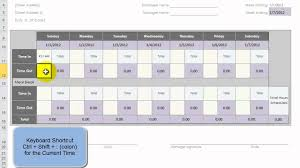 Pto Spreadsheet Template Use An Excel Template To Create 52 Weeks Of Employee Time Cards