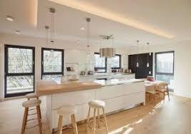 meubles cuisine cuisine blanche et bois luxury deco cuisine blanc et bois gris
