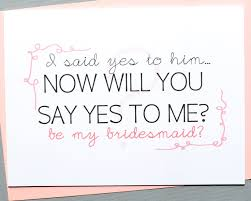 asking bridesmaids cards 6 creative ways on how to pop the bridesmaid question wedding