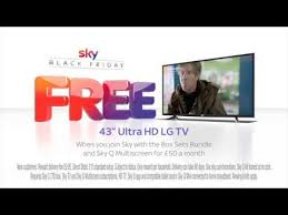 uhd tv black friday sky black friday has arrived with a free 43 u201d uhd lg tv youtube