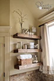 Woodworking Plans Free Standing Shelves by Easy Diy Floating Shelves Shanty 2 Chic