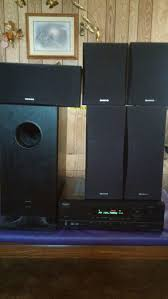onkyo home theater system 5 1 bluetooth onkyo ht r410 5 1 pwrd sub surround sound 250 obo for