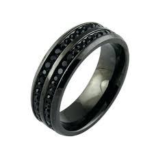black mens wedding rings mens wedding rings black diamonds mens wedding ring white gold