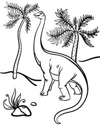 free apatosaurus coloring page