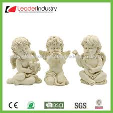Statue For Garden Decor China Hand Painted Polyresin Angel Baby Statue For Home And Garden