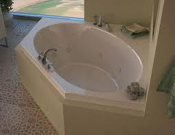 58 Inch Whirlpool Bathtub Venzi Stella 60 X 60 Corner Air U0026 Whirlpool Jetted Bathtub With