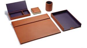 accesoires de bureau chedovre cuir d exception collection accessoires de bureau