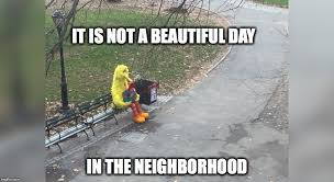 Silly Meme - the meme ing of life lonely big bird