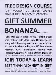 Free Home Design Classes Foundation Design Course Of Gift Ahmedabad