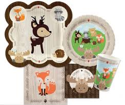 after halloween sales party city we love this woodland animals baby shower theme and after much