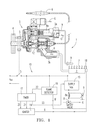 patent us7044729 gas burner control for a bake oven google patents