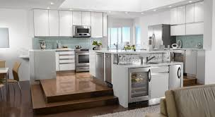 kitchen modern white kitchen with kitchenaid appliances such as