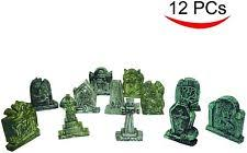 tombstones for spooktacular creations set of 12 miniature tombstones for