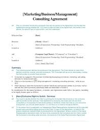 sample consulting contract template professional resumes sample