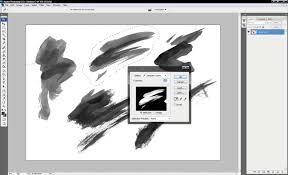 photoshop tutorial how to create a photoshop brush digital arts