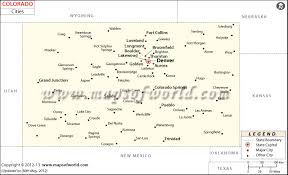 wray colorado map cities in colorado map colorado cities map