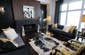 Black And Gold Room Decor Appealing The Most Brilliant Black And Gold Living Room Decor