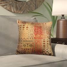 bungalow lenzee throw pillow reviews wayfair