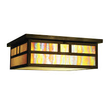 mission tiffany ceiling light craftsman style ceiling light illuminate entire rooms with minimal