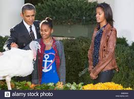 president barack obama pardons the national thanksgiving turkey with