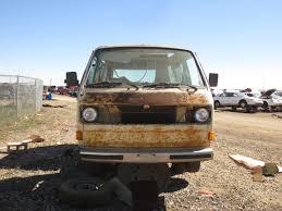volkswagen westfalia camper junkyard find 1981 volkswagen vanagon westfalia camper type p22