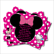 minnie mouse baby shower invitations 20 pcs lot minnie mouse birthday party invitation