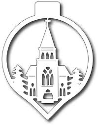 frantic ster dies church ornament fra die 09658