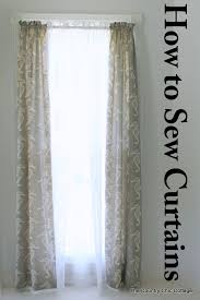 Sewing Draperies 223 Best Window Treatment Wizardry Images On Pinterest Curtains