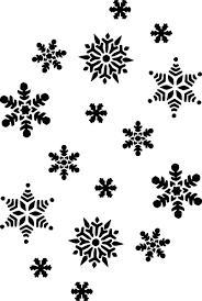 snow flakes clip art 166675