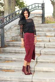 suede wrap skirt lace up booties love zahra