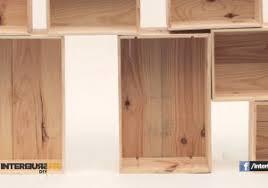 faire un bureau en bois faire un bureau a caissons en bois de palette con fabriquer