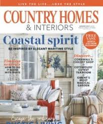 country home and interiors magazine top of the class