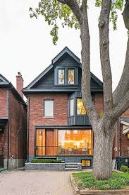 love the mix of history and modernism mwah toronto infill home