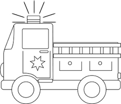 fire engine clipart image fire truck coloring