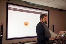 halloween video loop for window projection codepen chicago october 2016 by matt soria on codepen