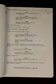 prop gallery production script