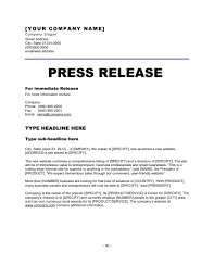 Free Press Release Templates 6 press release templates excel pdf formats
