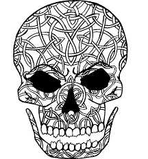 Celtic Skull - celtic skull by mysticpool on deviantart