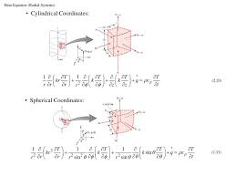 heat equation radial systems cylindrical coordinates