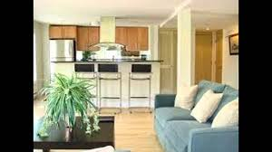 kitchen and living room design youtube