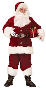 santa claus suit xxxl deluxe santa claus suit candy apple costumes
