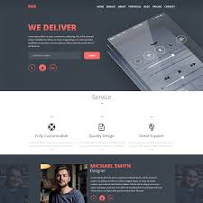 Online Resumes Free by 20 Free Psd Portfolio And Resume Website Templates 2017 Colorlib