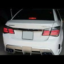 2014 cruze tail lights benz style smoke led tail lights rear l for chevrolet cruze 2010